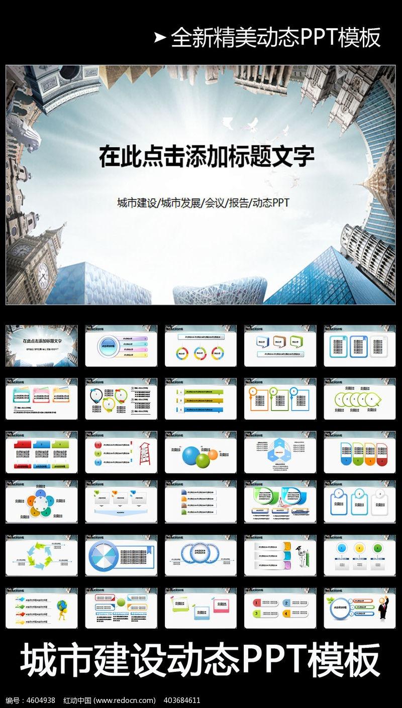 城市发展规划ppt模板