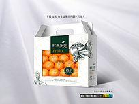 高档橙子包装盒设计