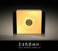 中式茶叶包装盒(含平面矢量文件)