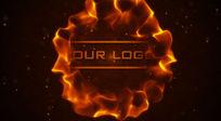 火焰logo演绎视频片头