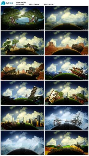地球环保公益宣传片头