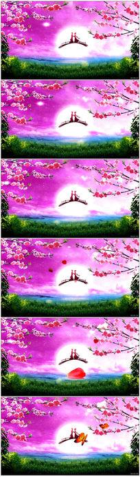 牛郎织女七夕情人节LED背景视频