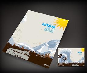 原创设计稿 画册设计/书籍/菜谱 封面设计 四大书院岳麓书院宣传册图片