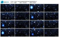 宇宙星空星光舞美幕布背景高清视频素材