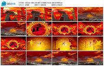 中国风之海天雄风古代打仗血海视频背景