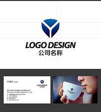 Y字母LOGO标志设计