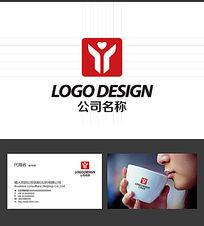Y字母的LOGO标志设计