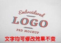 刺绣logo标志效果图样式