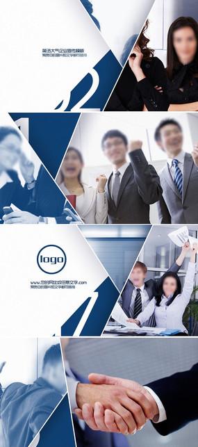 大气企业ae宣传视频模板