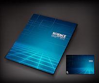 电子科技宣传册封面设计