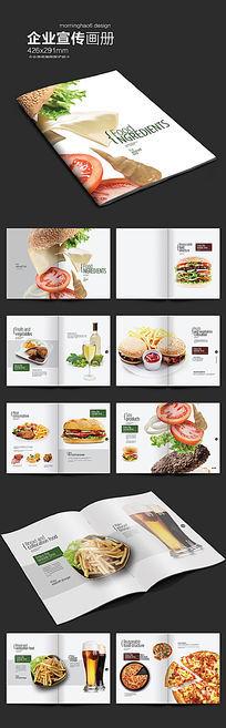 国外美食画册版式设计