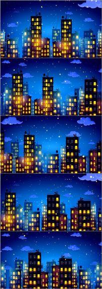 浪漫城市爱情视频背景
