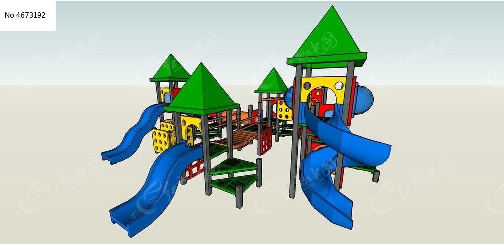 时尚模型娱乐场所skp模型_3D玻璃/3D素材图片滑梯果酱瓶200ml图片