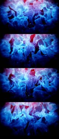 烟雾梦幻背景视频素材