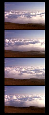 云海日出实拍影视素材