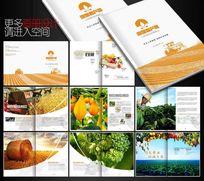 创意农业画册版式设计