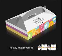 彩色蛋糕盒包装