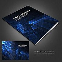 科技背景画册封面