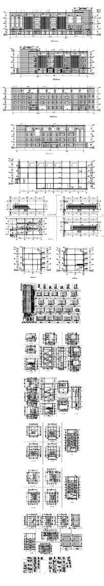 卖场建筑CAD图 dwg