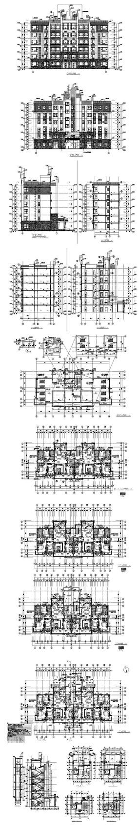 商业休闲酒店建筑图纸