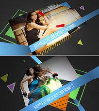 时尚动态图文展示包装AE模板