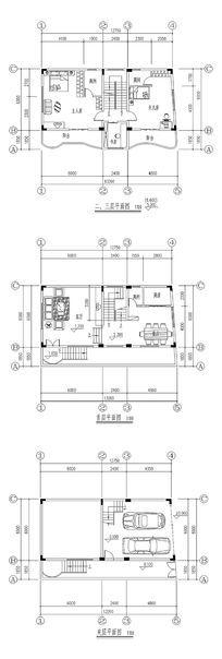 CAD室内平面图纸