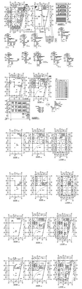 私家建筑房子CAD图纸