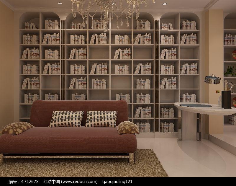 标签:整墙书柜装修模型素材书房模型 3D模型 模型素材资料 MAX格高清图片