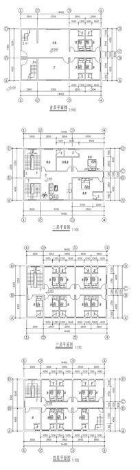 家居CAD施工平面图 dwg