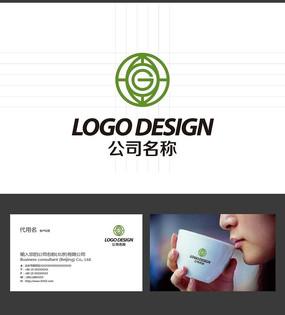 G字母LOGO标志设计