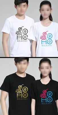 T恤图案soho