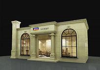 玉石展厅3d模型