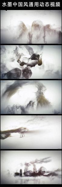 震撼大气水墨中国风动态视频素材