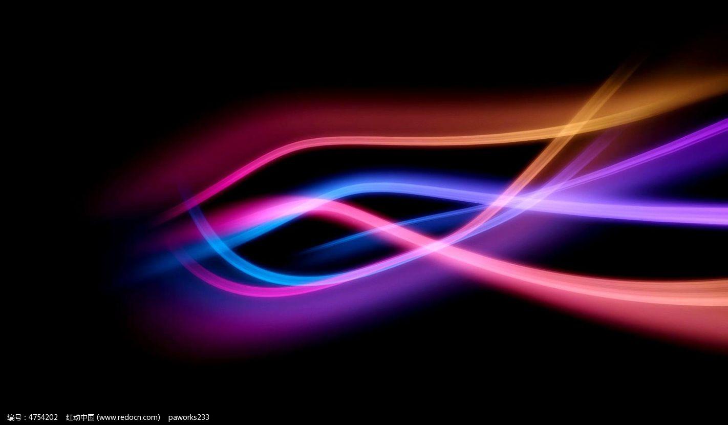 视频_彩色光线视频素材