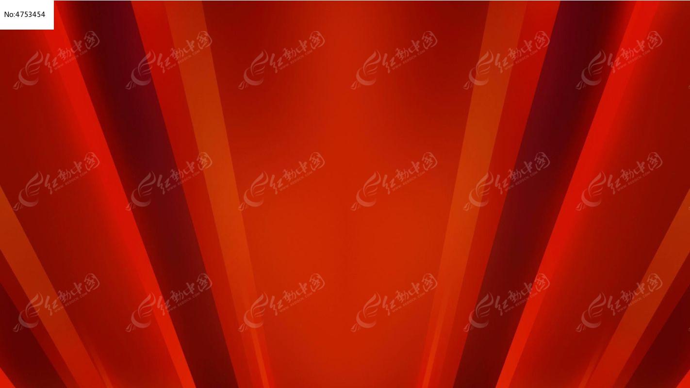 视频_喜庆红色背景视频素材