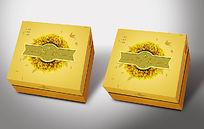 创意金色燕窝包装礼盒设计
