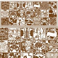 传统纹古典图案