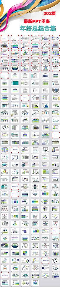 动态PPT图表工作计划PPT模板