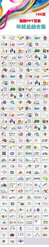 年终总结新年计划动态PPT图表包