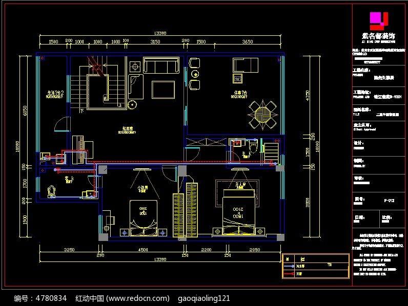 CAD 家装水路 设计 图纸 CAD 图纸图片