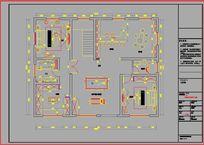 别墅二楼CAD设计图纸