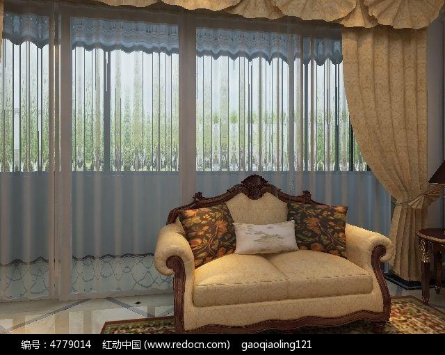 欧式沙发3dmax模型