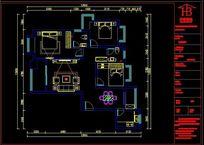 室内CAD平面布置图纸