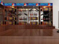 烟酒展柜3dmax模型