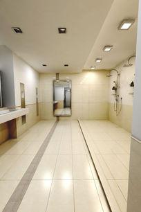 原创淋浴室/健身房浴室/公共澡堂 3dmax 模型