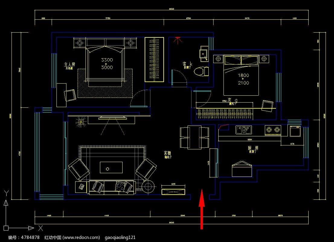 标签:CAD小户型平面设计图纸 CAD图纸 CAD格式-15款 CAD户型平