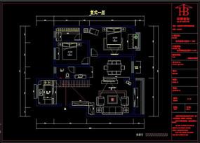 别墅CAD平面设计图纸