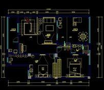 别墅平面设计CAD图纸