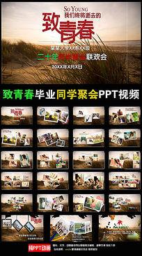 匆匆那年致青春毕业同学聚会PPT视频相册 ppt