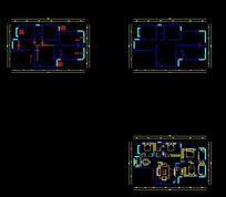 家装CAD户型图纸 CAD
